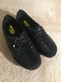 pair of black Nike low-top sneakers Annandale, 22003