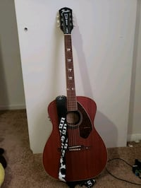 brown and black acoustic guitar Gahanna, 43230