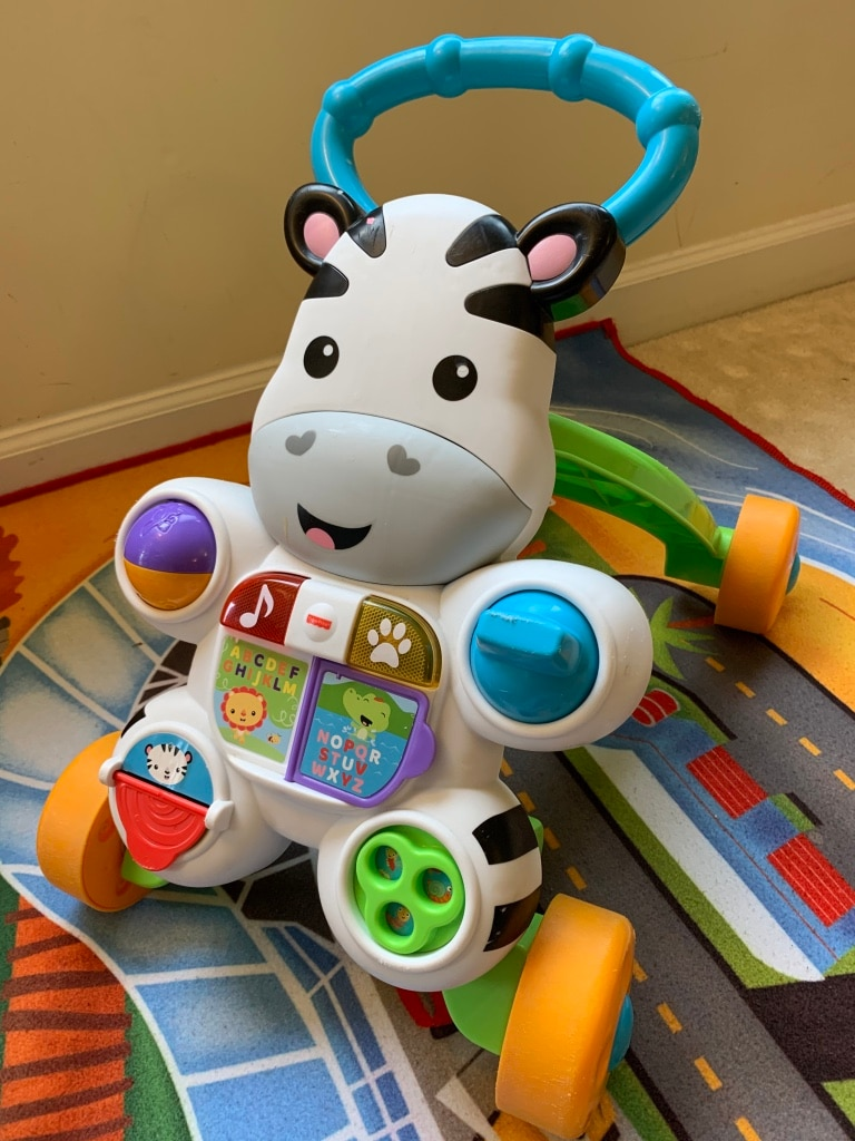 Photo Fisher-Price Learn with Me Zebra Walker