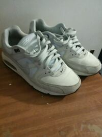 pair of white-and-gray Nike running shoes Columbus, 43207