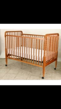 baby's brown wooden crib Barrie, L4M 6X5