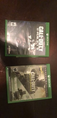 two Xbox One game cases Harlingen, 78552