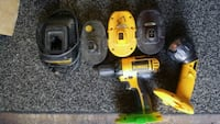 yellow and black DeWalt cordless power drill Christiana, 37037