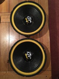 """Speakers, two sets, 10"""" and 12"""", tested good. Baltimore, 21237"""
