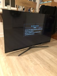 55 inch Samsung smart tv