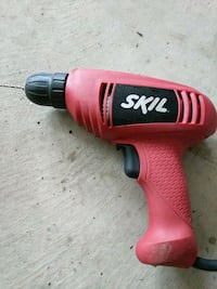 red and black Skil cordless hand drill Brantford, N3T 0A8