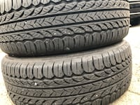 Two uses tire 185/55R16 KOMHO7 ECSTA PA31 two used tire 40 2 llantas usadas 185/55R16 KUMHO7 PA31 por las 2 $40