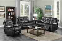 3 piece air leather  recliner set Toronto