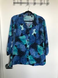 Chicos Floral Jacket Plus Chicago, 60605