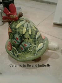 Ceramic turtle and butterfly Woodbridge, 22193