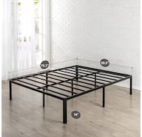 Queen Metal Platform Bed Frame  Manassas, 20112