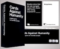 Cards Against Humanity Card Game (Good Condition) Herndon, 20170