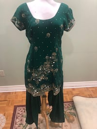 Green Stitched Indian Suit 3 piece  Toronto, M9V 4Z7