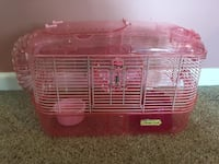 red and white hamster cage Partlow, 22534