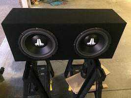 2 10 inch sub box only