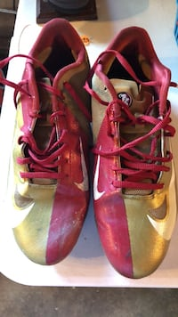 FSU Nike Cleats, Good condition Men's Size 9.5 Tallahassee, 32310