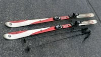 Red and white Rossignol skis Sykesville, 21784