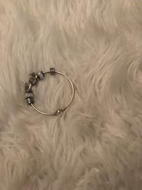 Pandora silver bangle - with charms it's more of a fee Toronto, M2H 1W6