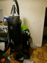 black and gray Everlast heavy bag Silver Spring, 20903