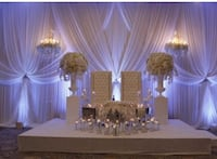 Head table stage for RENTAL you may create a 8x6 or a 12x4 stage Brampton, L7A 2A9
