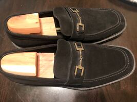 Black Gucci Men's Loafers Size 13