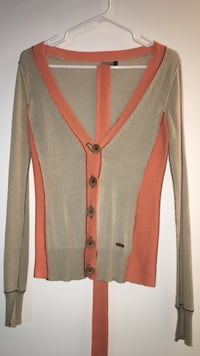 Wilfred Beige and orange long-sleeved sweater  Toronto, M5E 0A4