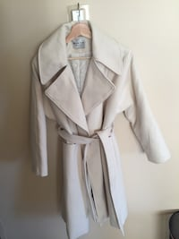 White cream coat  New Westminster, V3M