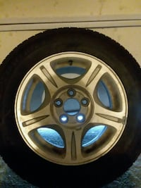 2006 hond civic tire and rim Omaha, 68124