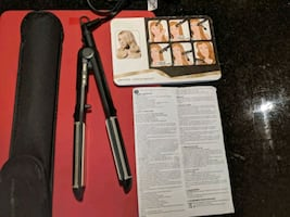 Rowenta professional hair straightener curling iron all in one