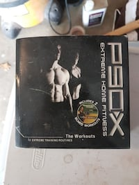 P90X Extreme Home Fitness disc case Ontario, L4H