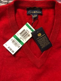 New Estate Cashmere Club Room Size L sweater  Davie, 33325