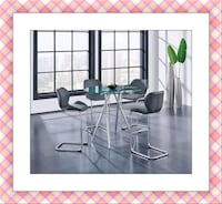 Counter height  glass top dining table set Elkridge, 21075