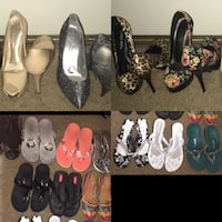 Heel and sandal lot size 7 Vacaville, 95687