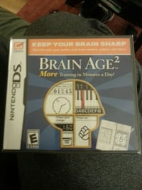 Brain Age 2 Nintendo DS game. New unopened Brewster, 10509