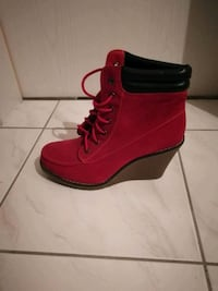 rote High-Top-Sneakers Stiefeletten Leipzig, 04275