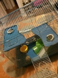 black and yellow pet cage Winnipeg, R3G
