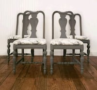 Vintage Chairs- Set of 4 Aldie, 20105