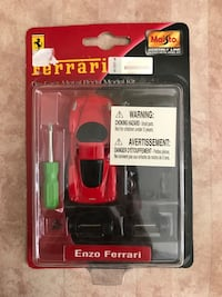 Ferrari die cast metal model kit brand new  Vaughan, L4H 2S8