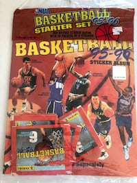 1995/96 Panini Basketball Stickers and Albums Vancouver, 98683