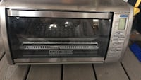 black and gray Emerson microwave oven Arlington, 22202