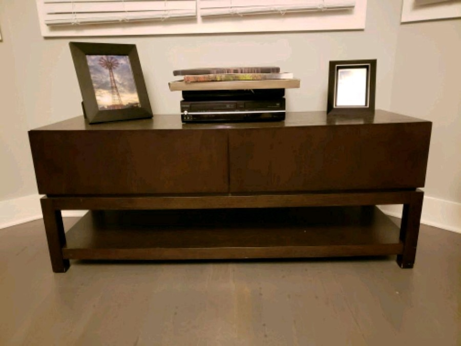 used ethan allen tv stand for sale for sale in jersey city letgo rh gb letgo com