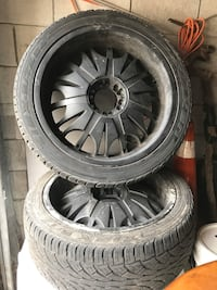 Universal Truck tires and rims
