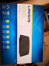 linksys N300 wifi Router new in box New Westminster, V3M 5C7