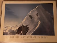 The Hillary Step of Everest wall decor Vancouver, V5L 2Z7