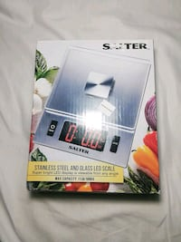 Stainless Steel and glass Led scale Queens, 11370