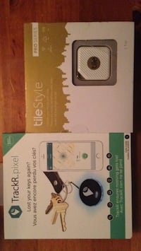 TrackR pixel new & Tile Style Pro Series new Vancouver, V5T 1A4
