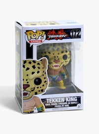Funko Pop King (tekken) Madrid, 28012