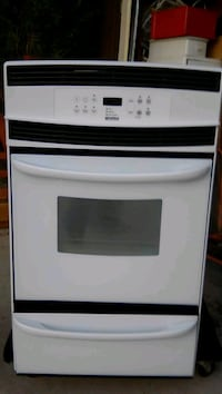 white and black induction range oven Lancaster, 93535