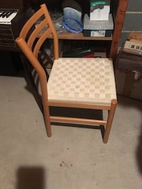 OAK Ikea Chairs with Weave Seats $18 Sewell, 08080