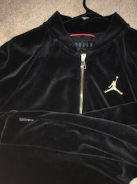 NEW Black and Gold Jordan Suede zip-up jacket Ann Arbor, 48108
